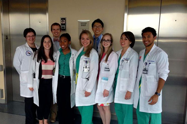 Clinical rotations in all major disciplines are provided for medical students from the UF College of Medicine.